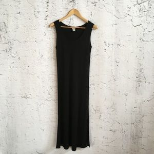 J JILL BLACK MAXI DRESS SP